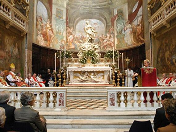 Inauguración de la restauración Chiesa San Luca