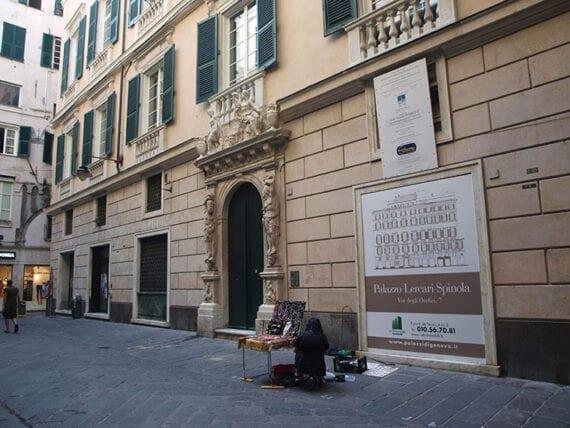 Palazzo Lercari Spinola o Palazzo di Gio. Maria Spinola