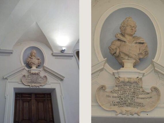 Busto di Maria Spinola D'Oria