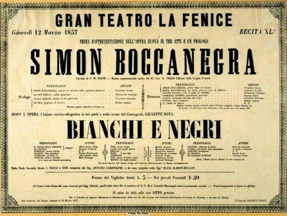 Simon Boccanegra di Giuseppe Verdi