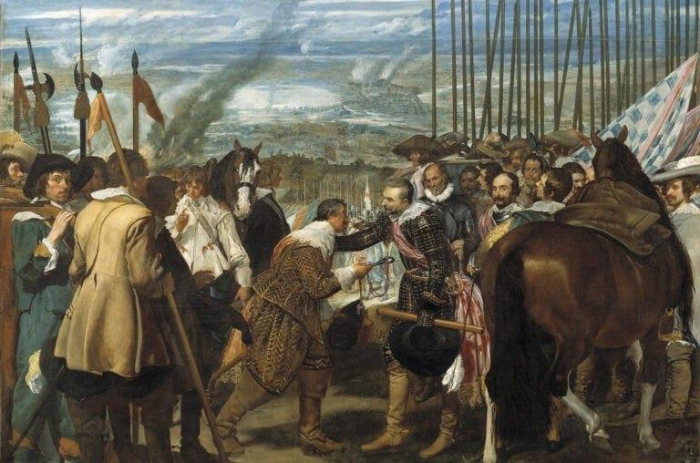 La resa di Breda - Velázquez