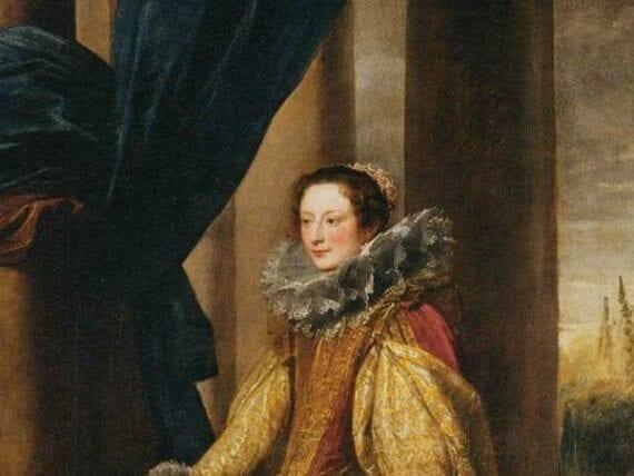 Presunto ritratto della Marchesa Geronima Spinola Doria
