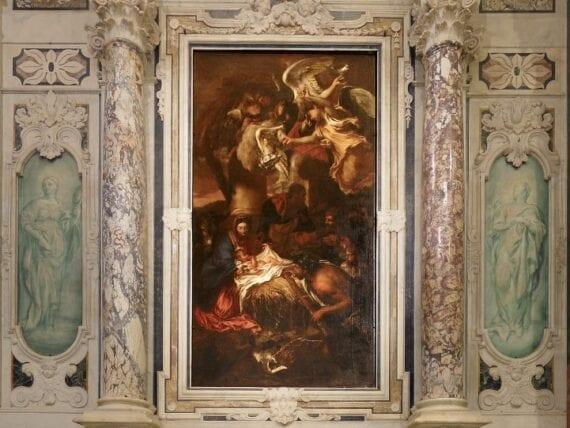 Chiesa di San Luca, l'Adorazione dei Pastori