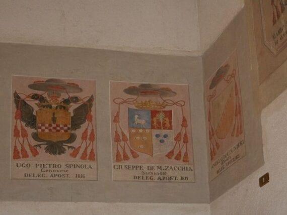 Stemma del Cardinale Ugo Pietro Spinola – Palazzo dei Capitani del Popolo, Ascoli Piceno