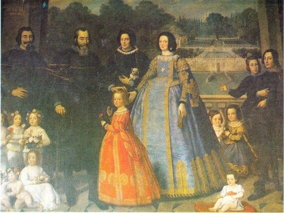 Brigida Spinola in Ritratto della Famiglia Imperiale
