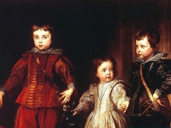 Ritratto di tre fanciulli di casa Spinola