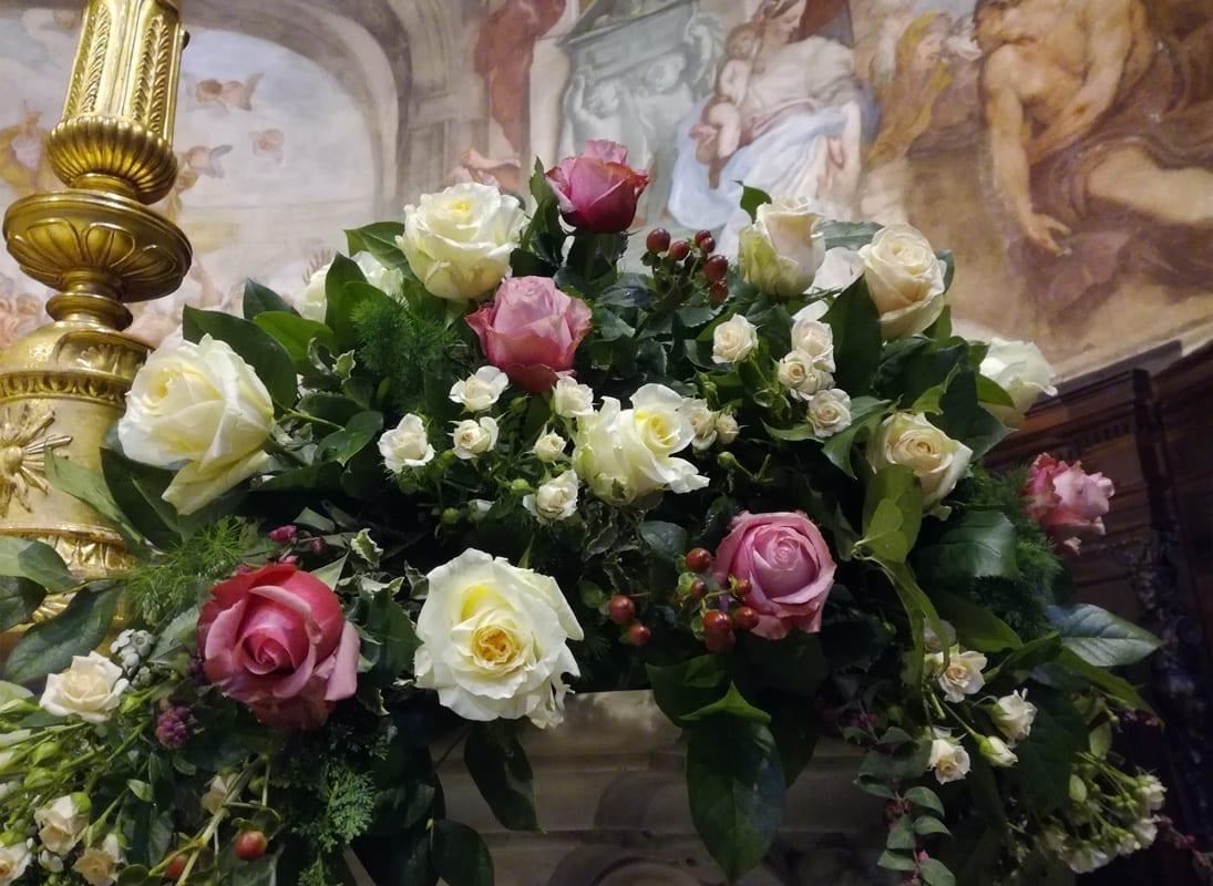 Decorazioni Floreali in San Luca