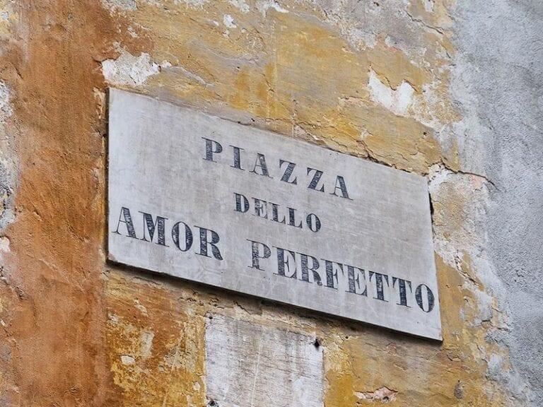 Piazza dello Amor Perfetto (Площадь идеальной любви)