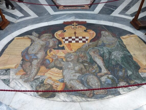 Tomba dei Cardinali Giulio e Giovan Battista Spinola juniore