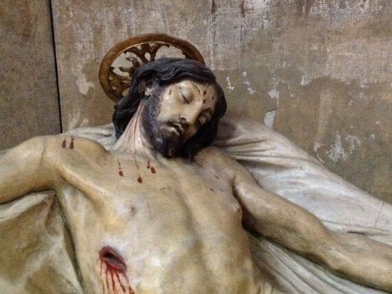 Chiesa di San Luca, Cristo deposto
