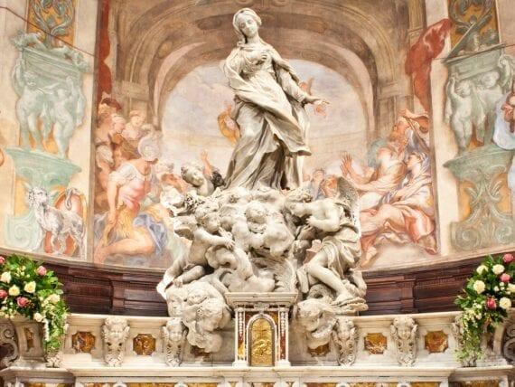 Chiesa di San Luca, Vergine con Angeli
